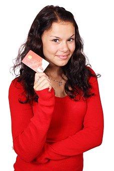 Business, Card, Credit, Debit, Female, Finance, Girl