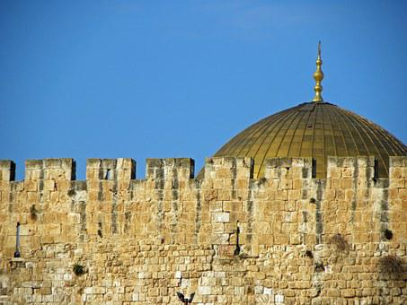 Dome Of The Rock, Jerusalem, Israel, City, Dome, Old