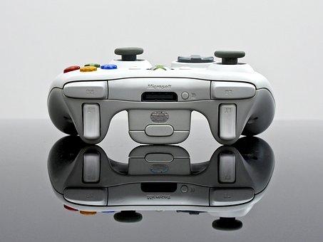 Xbox, Game, Handle, Entertainment, Happy, White