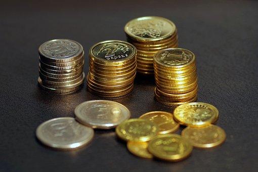 Money, Buck, Coins, Poland, Business, Finance, Savings