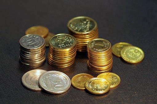 Money, Coins, Buck, Poland, Business, Finance, Savings