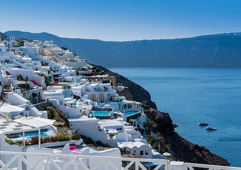 Santorini, Oia, Greece, Travel, Summer, Greek, Tourism