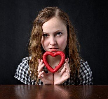 Love, Heart, Girl, I Love, Symbols, Romantic, Feeling
