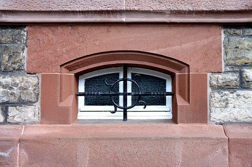 Basement, Grid, Art Nouveau, Heidelberg, Detail