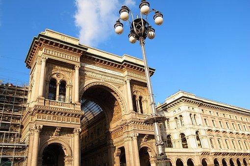 Italy, Milan, Arcade