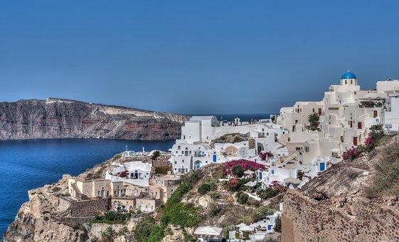 Santorini, Oia, Greece, Leisure, Travel, Summer, Greek