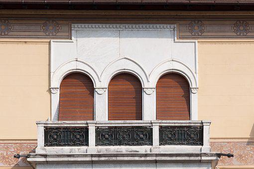 Villa, Town Home, Building, Marble, Window