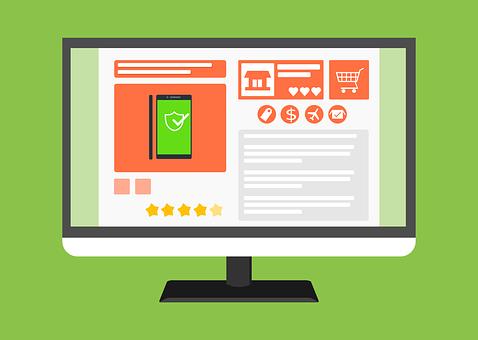E-commerce, Online Shop, Web, Template, Website