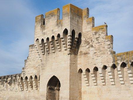 Defensive Tower, Tower, Battlements, Defense, Ornament