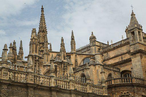 Dom, Seville, Church, Places Of Interest, Cathedral