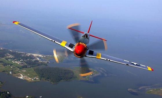 Aircraft, Propeller Plane, Propeller, Pilot, Flying