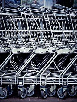 Shopping Cart, Shopping, Supermarket, Purchasing