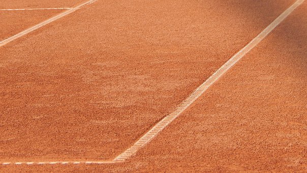 Tennis, Tennis Court, Sports, Play, Workout, Red