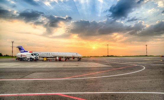 Airport, Plane, Travel, Airplane, Aircraft, Sky