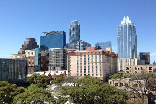Austin Texas, Austin, Tx, Texas, Cityscape, Downtown