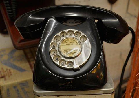 Telephone, Phone, Vintage, Technology, Communication