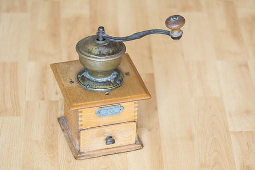 Coffee Grinder, Times, Coffee, Antique, Old, Vintage