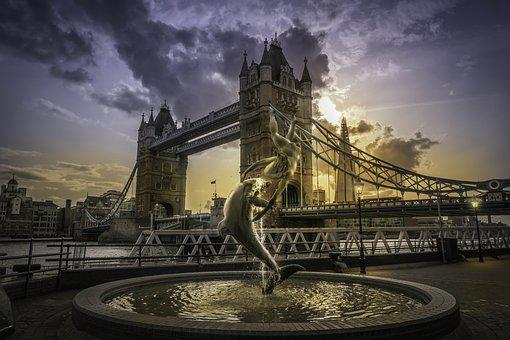London, Bridge, England, Thames, Tower, Landmark