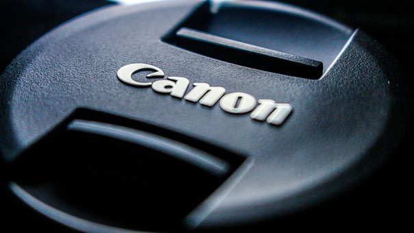 Canon, Lens Cap, Black, Cover