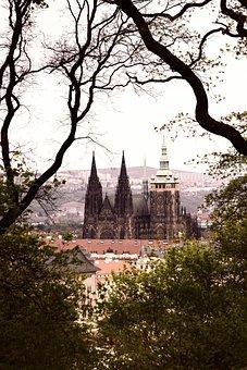 Prague, Prague Castle, Czech Republic, Building, Church