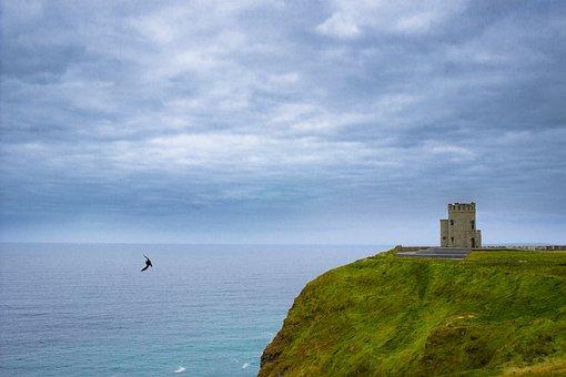 Ireland, Sea, Rock, Water, Coast, Landscape, Nature