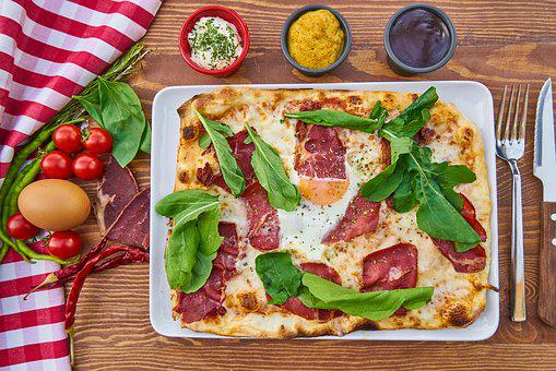 Pizza, Dough, Flour, Hot, Fresh, Hunger, Food Photo