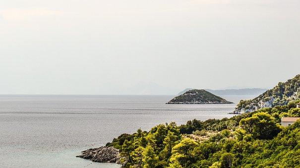 Greece, Skopelos, Coastline, Landscape, Island, Greek