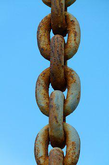 String, Sky, Chained, Symbol, Oxide, Links