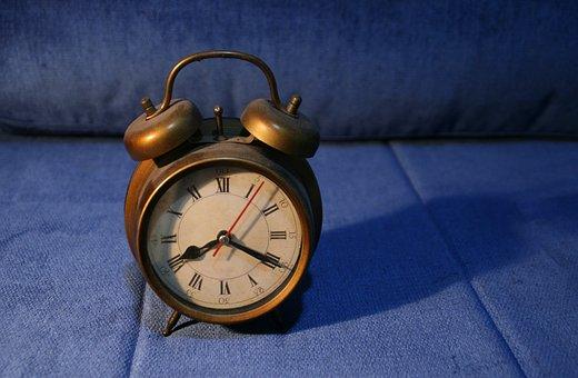 Retro, Clock, Past