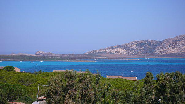 Sardinia, Isola Piana, Stintino, Sea, Summer, Landscape