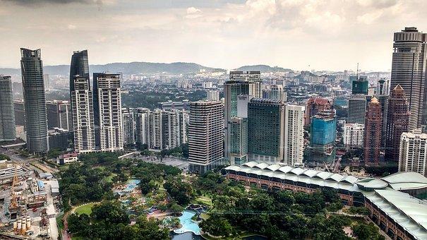 Kong Kuala, Skyline, Hochaeuser, Skyscraper