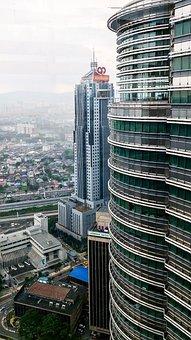 Kong Kuala, Skyline, Skyscrapers, Skyscraper