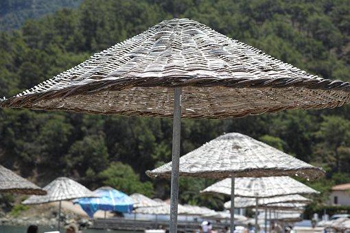 Beach, Background, Coastal, Summer, Mediterranean