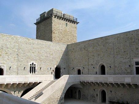 Castle Of Diósgyőr, Castle, Tower, Arcade
