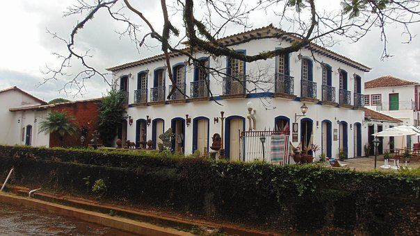 Home, Mansion, Old, Old House, Facade, Windows