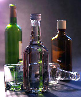 Alcohol, Alcoholism, Vodka, Wine, Habit, Rehabilitation