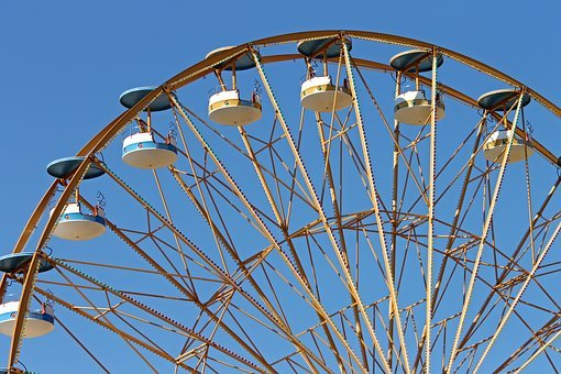 Ferris Wheel, Pleasure, Year Market, Folk Festival