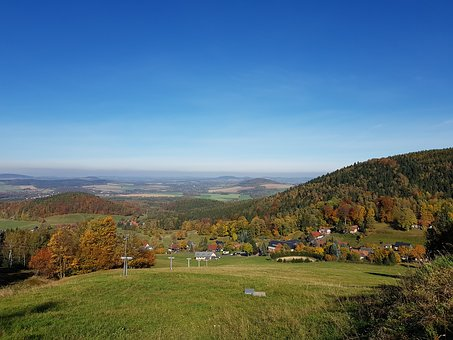 Zittau Mountains, Walter Village, Nature, Autumn