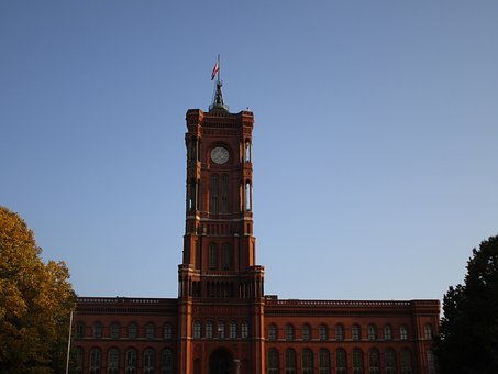 Berlin, Red Town Hall, Town Hall, Building