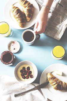 Breakfast, Eat, Meal, Table, Muesli, Nutrition