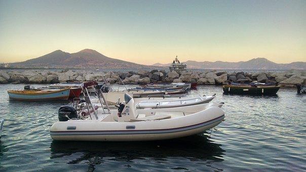 Naples, Vesuvius, Bay, Gulf, Coast, Napoli, Coastline