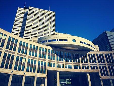 Tokyo, Metropolitan, Government, Building, Japan, Home