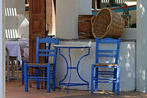 Tavern, Restaurant, Greece, Historically, Gastronomy