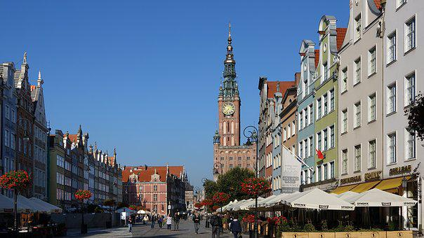Gdańsk, Poland, Historic Old Town, Town Hall, Museum
