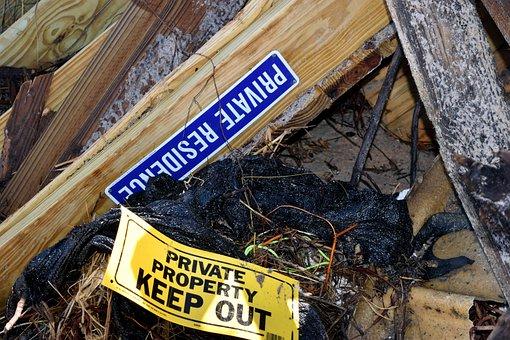 Beach Debris, Cleanup, Hurricane Irma, Destruction