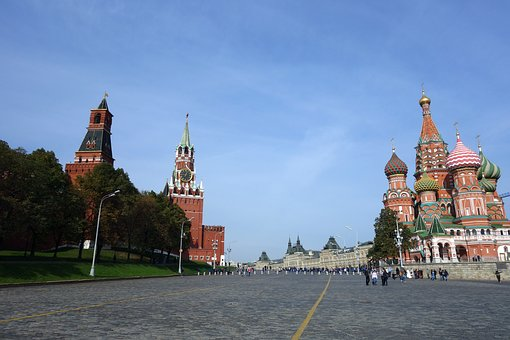 Moscow, Red Square, Russia, Kremlin, Architecture