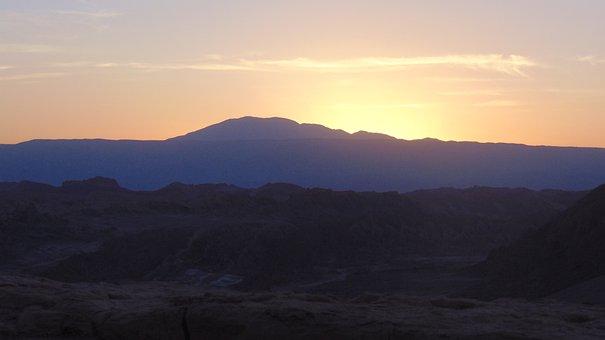 Mountain, Argentina, Mountaineering, Nature, Horizon