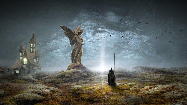 Fantasy, Mystical, Landscape, Fairy Tales, Romantic