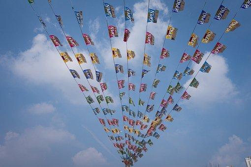 Begin, Daytime, Flag, Kite Sports, Open, Open Event