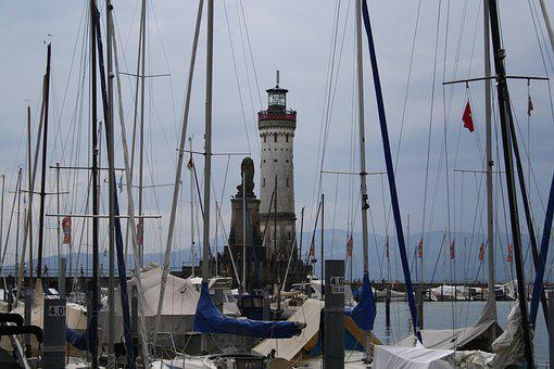 Lake Constance, Lindau, Nature, Places Of Interest